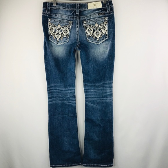 Miss Me Denim - Miss Me Chloe boot cut jeans SZ:30